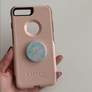 Otterbox iPhone 7 Plus/8 plus case pink